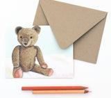 Fold Notes | Vintage Teddy Bear