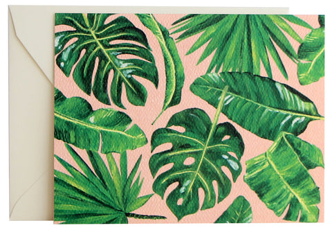 Lush Leaves Fold Note | Set of 10