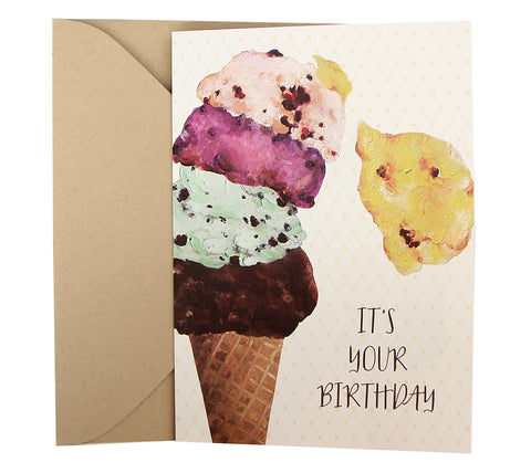 Birthday Card | Ice Cream