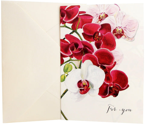 For You Card | Orchids