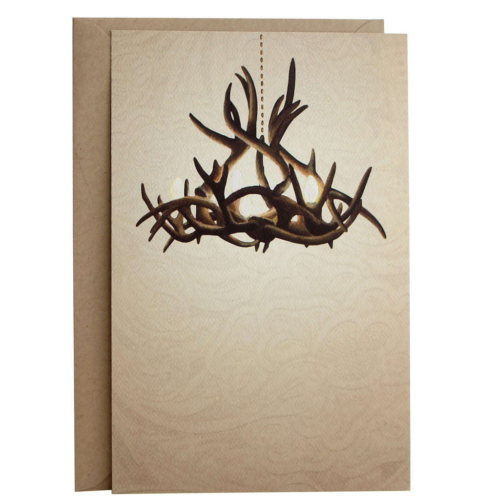 Invitation | Antler Chandelier