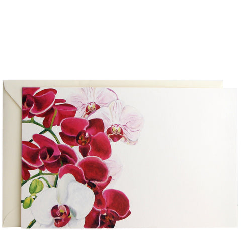 Orchid Invitation | Set of 10