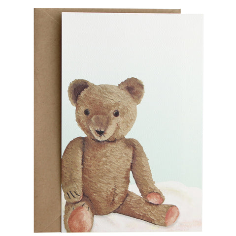 Vintage Teddy Bear Invitation | Set of 10