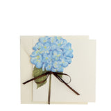 Hydrangea Die Cut Invitation | Set of 10