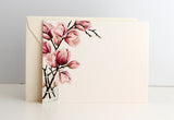 Magnolias Flat Note | Set of 10