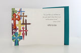 Religious Card | Colorful Crosses