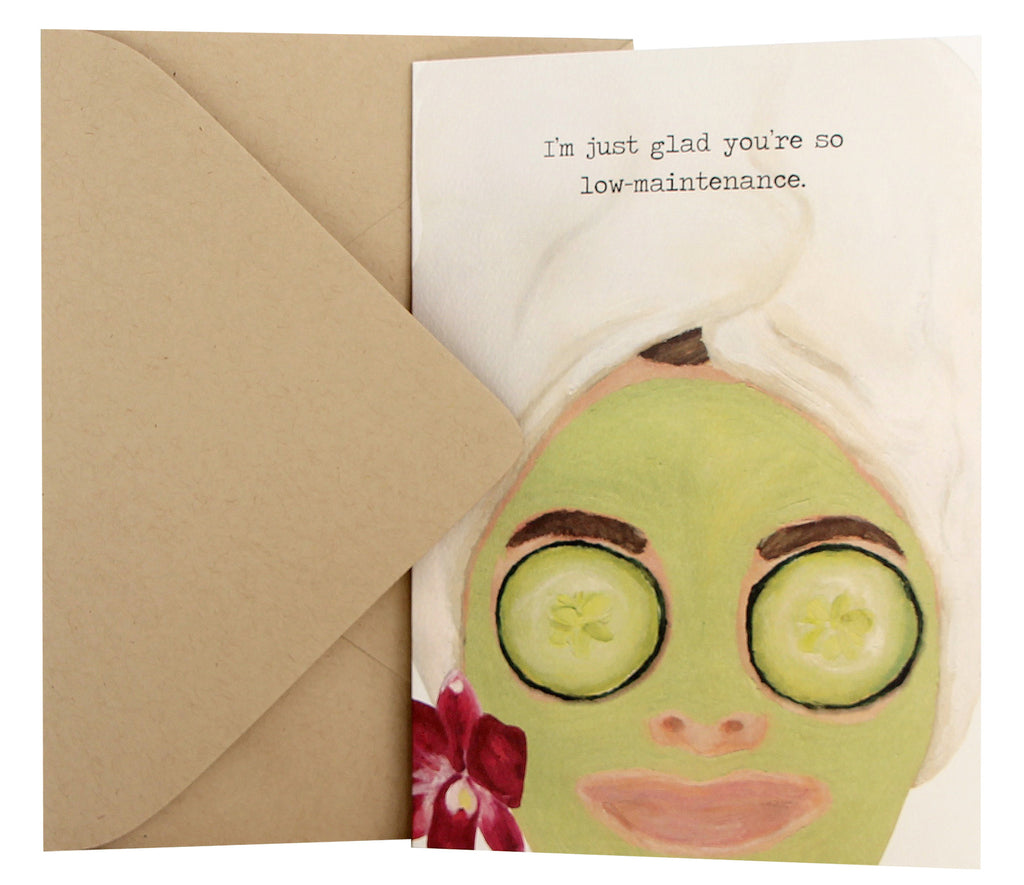 Just Because Card | Spa Face