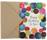Birthday Card | Artsy Dots
