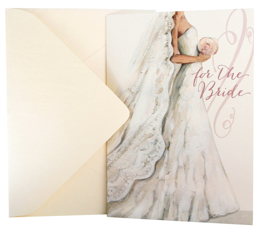 Wedding Card | Gown & Veil