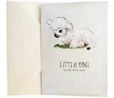 New Baby Card | Vintage Lamb