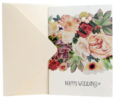 Wedding Card | Botanicals