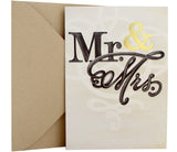 Wedding Card | Mr. & Mrs. + Gold Foil