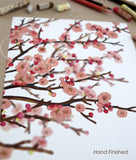 Art Print | Cherry Blossoms 8x10""