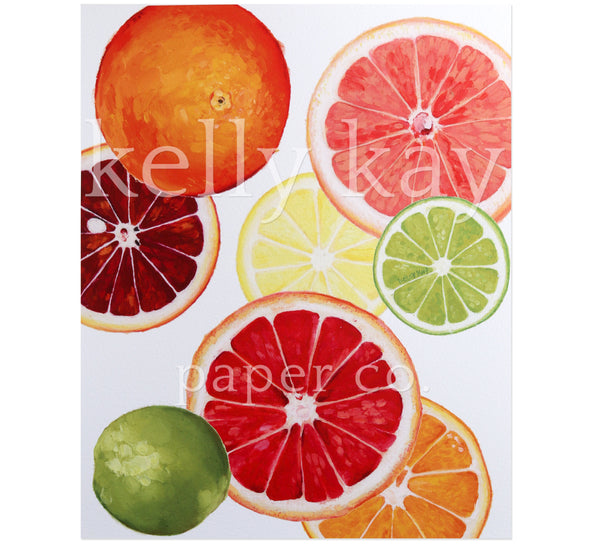 Art Print | Citrus Fruit