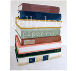 Art Print | Book Stack
