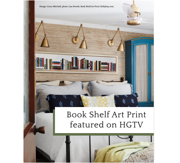 Art Print | Book Shelf OVERSIZED
