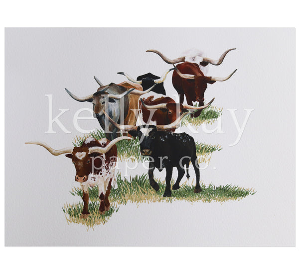 Art Print | Cattle Drive