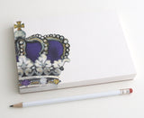 Luxe Paper Pad | Queen Crown