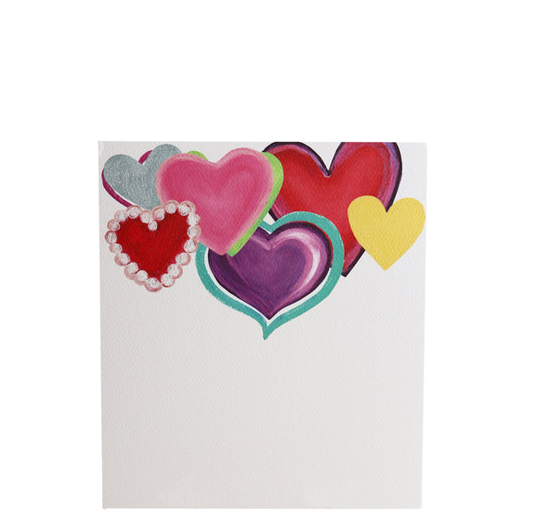 Luxe Paper Pad | Hearts