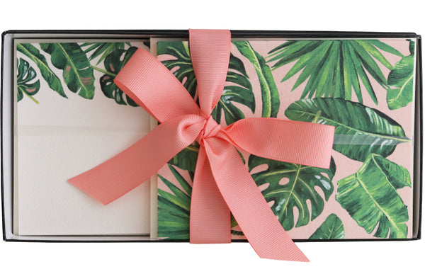 Stationery Gift Box | Lush Leaves