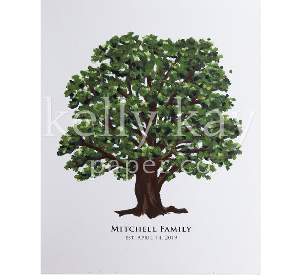 Art Print | Oak Tree