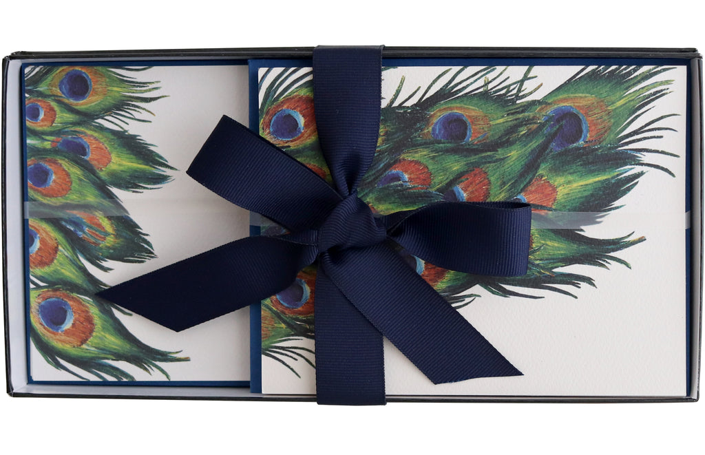 Stationery Gift Box | Peacock