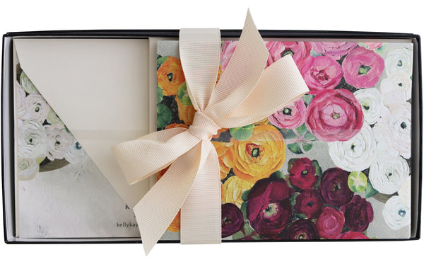 Stationery Gift Box | Ranunculus