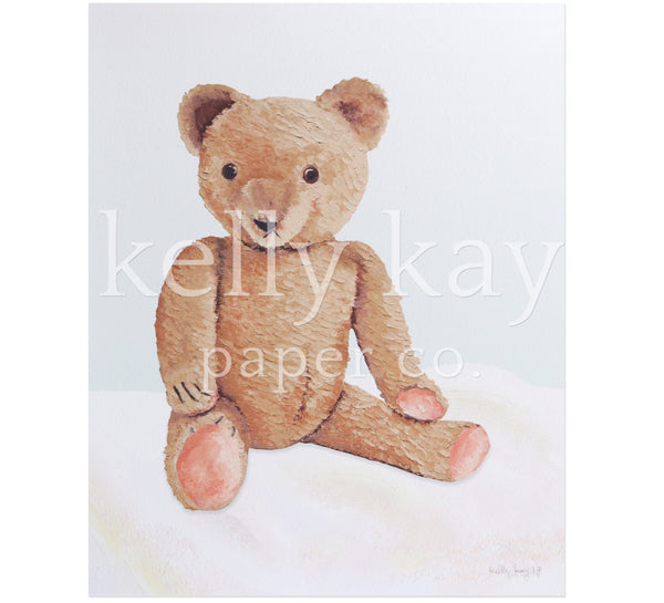 Art Print | Vintage Teddy Bear