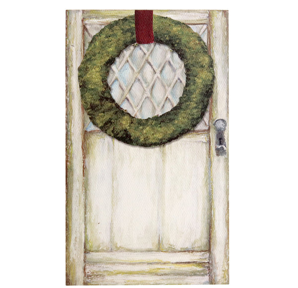 Luxe Paper Pad | Christmas Door
