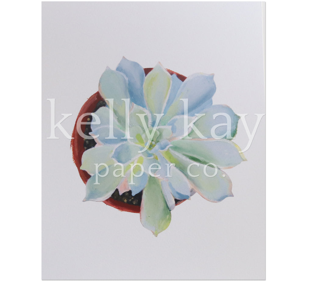 Art Print | Succulent Basic