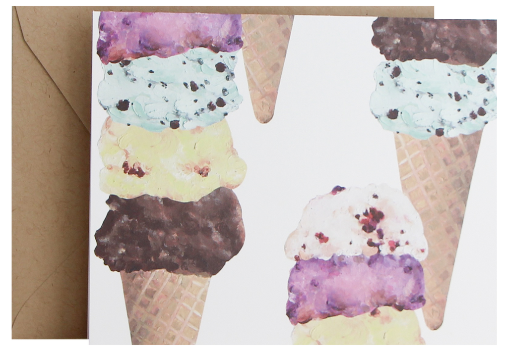 Fold Notes | Ice Cream