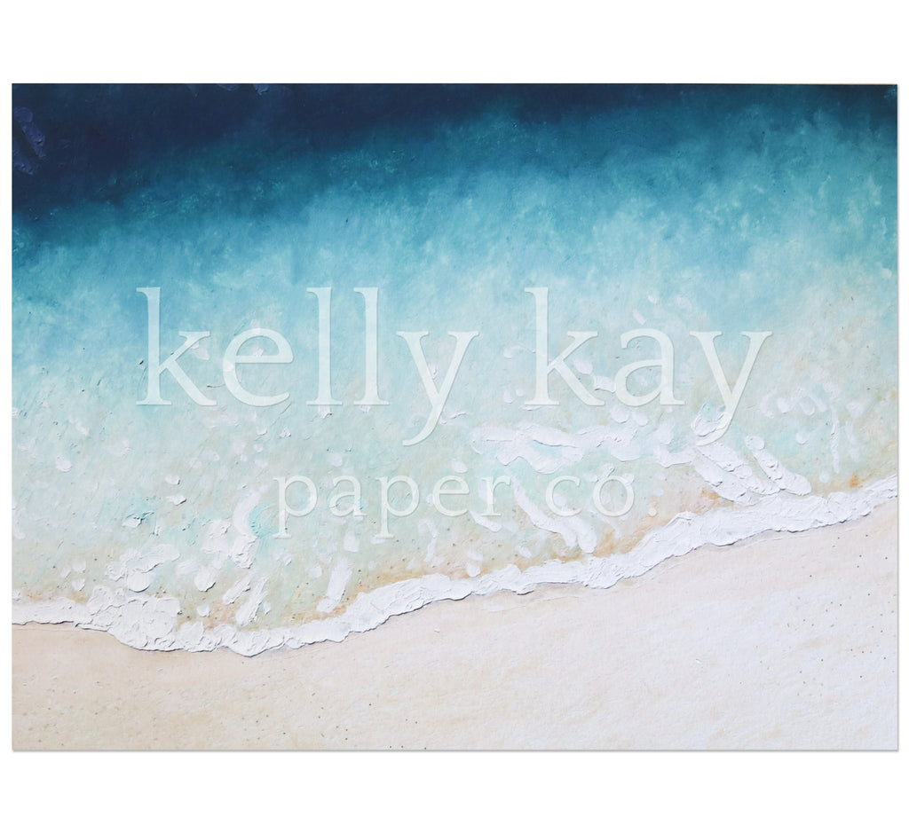 Art Print | Beach Wave