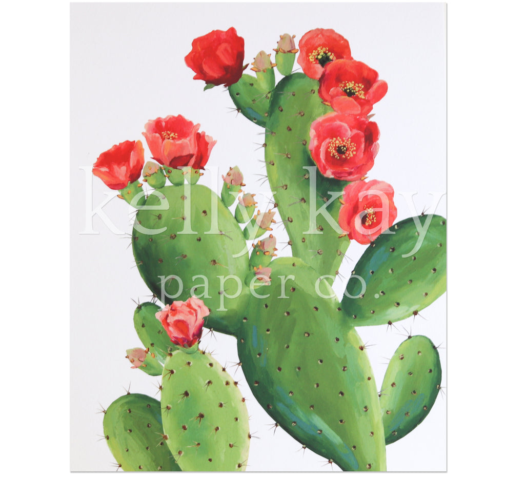 Art Print | Prickly Pear
