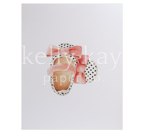 Art Print | Polka Dot Shoes