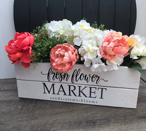 Planter / Storage Centerpiece boxes
