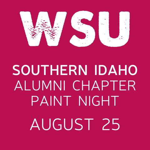 8/25 WSUAA Southern Idaho Chapter Virtual Paint Night