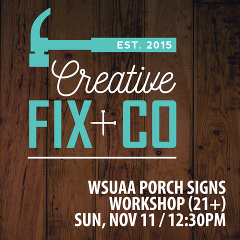 11/11 WSUAA's  Party at Dry Fly Distilling