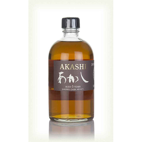 Akashi Eigashima Shuzo Sherry Cask Single Malt (White Oak)