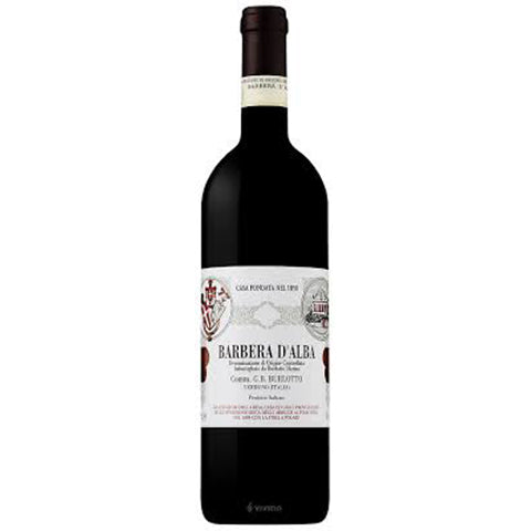 Barbera D'alba Burlotto DOC 2018