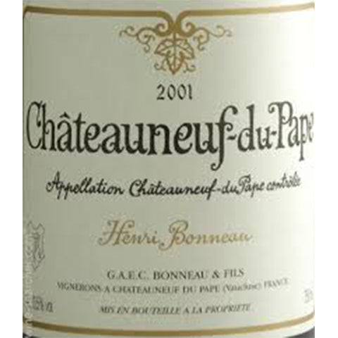 Henri Bonneau Tradition Chateauneuf du Pape 2014