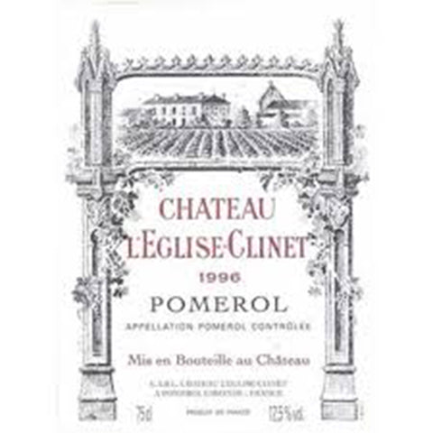 Chateau L'Eglise Clinet 1996