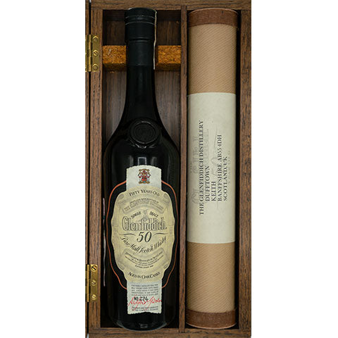 1937 GLENFIDDICH 50YO, OB, 700ml 43%, with Original Box and Certificate