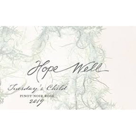 Hope Well Tuesday's Child Rose 2019