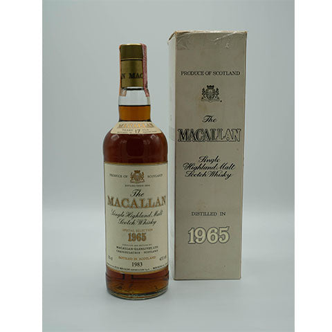 1965 MACALLAN 17YO, OB, 750ml, 43% with Original Box
