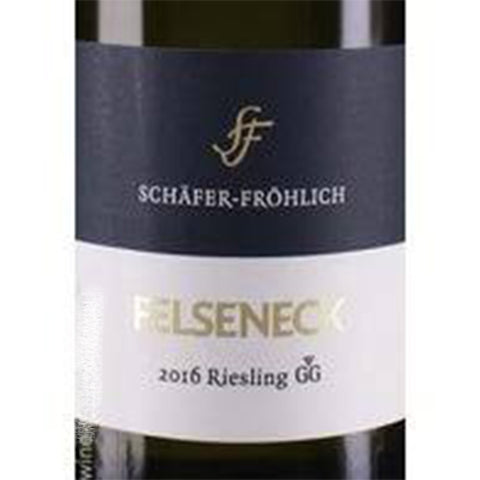 Schafer Frohlich Felseneck Riesling GG 2019 - Sold Out!
