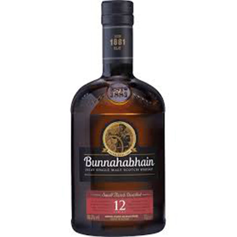 Bunnahabhain Scotch Whiskey 12 Year