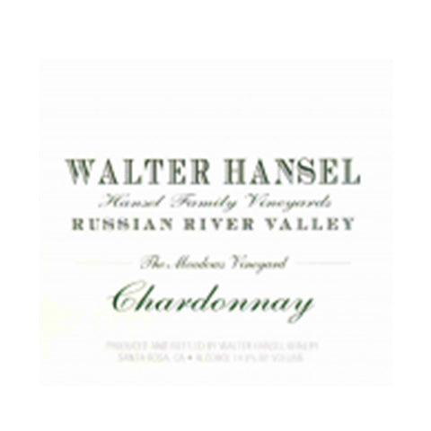 Walter Hansel Chardonnay The Meadows RRV 2015