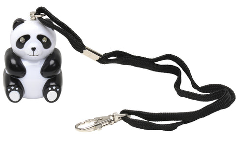 Panda Chaperone 125dB  Emergency Panic Alarm by Vigilant Personal Protection Systems with Light Up Eyes, Wrist Strap and Bag Clip (PPS-80)