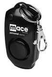 Mace Brand 130 dB Personal Alarm with Backup Whistle, Hidden OFF Button and Bag / Purse Clip (Black)