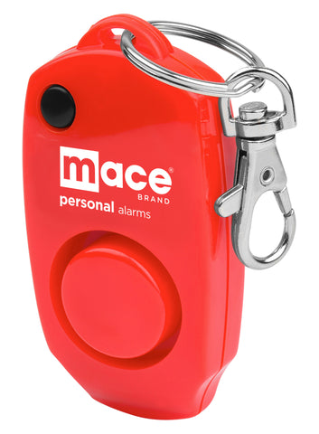 Mace Brand 130 dB Personal Alarm with Backup Whistle, Hidden OFF Button and Bag / Purse Clip (Red)
